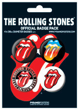 ROLLING STONES Badges