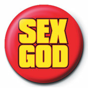SEX GOD Badges