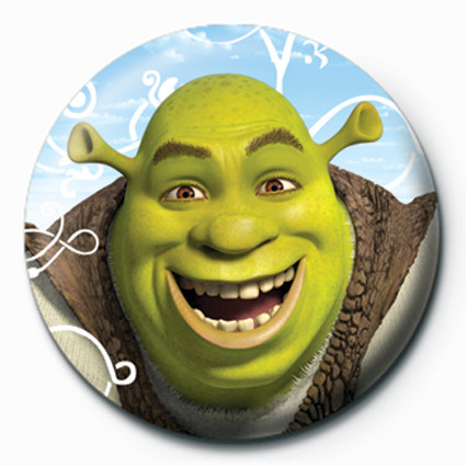 SHREK 3 - shrek Badge