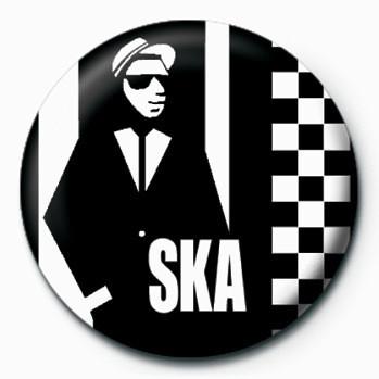 Ska Man Badge