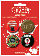 Badge SKATE