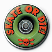 SKATEBOARDING - SKATE OR D Badge