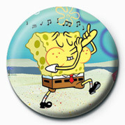 SPONGEBOB - music Badges