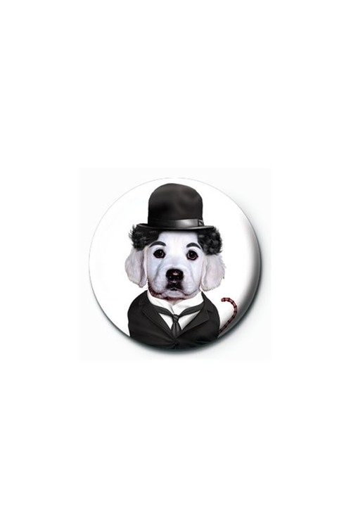 TAKKODA - charlie chaplin Badges