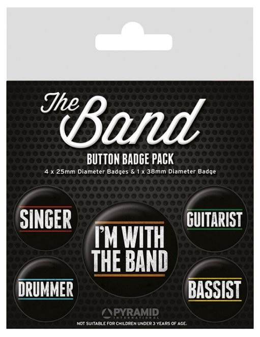 Badge The Band