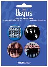Badge THE BEATLES - Blue