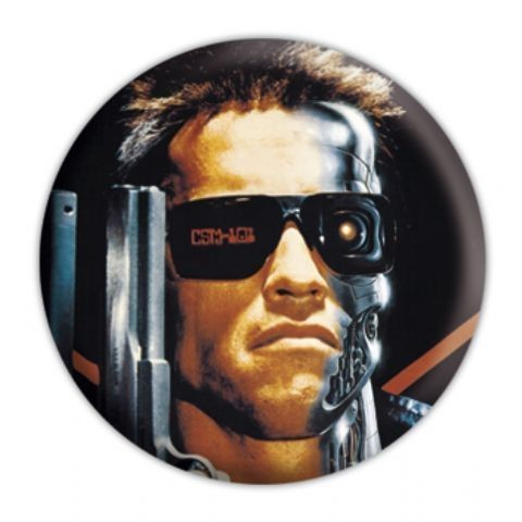 THE TERMINATOR Badges