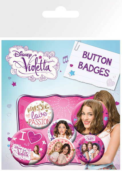 Badge VIOLETTA - This Is Me