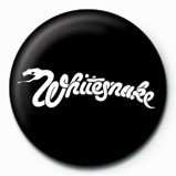WHITESNAKE - logo Badge