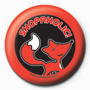 WITH IT (SHOPOHOLIC) Badge