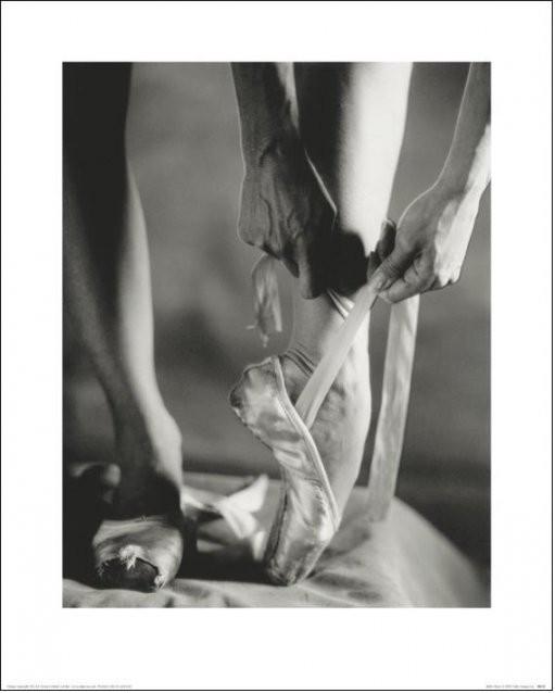 Balett - Ballet Shoes Festmény reprodukció