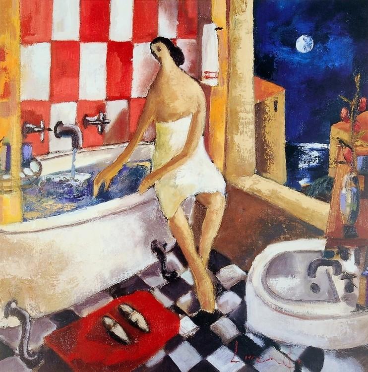 Bano Rojo Festmény reprodukció