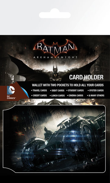 Batman Arkham Knight - Batmobile Portcard