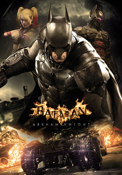 Batman: Arkham Knight - Battle Metallic plakat