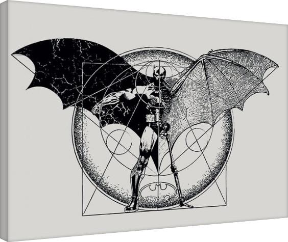 Vászon Plakát Batman - Dark Arts