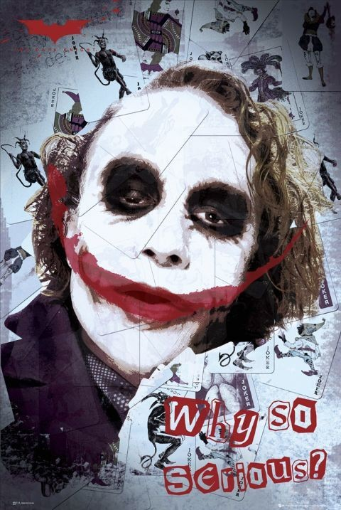 BATMAN - smile - плакат (poster)