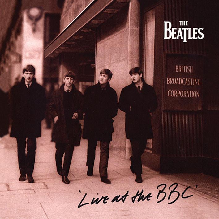 BEATLES - live at the bbc Autocolant