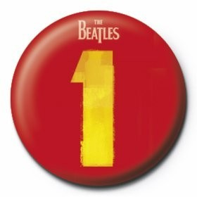 BEATLES - number 1 Insignă