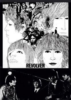 Beatles - revolver - плакат (poster)