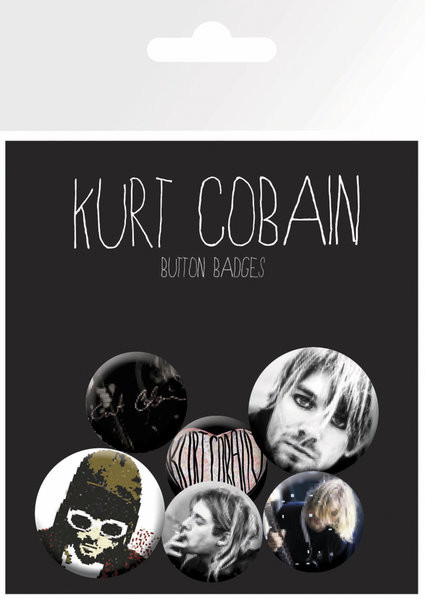Set bedževa Kurt Cobain