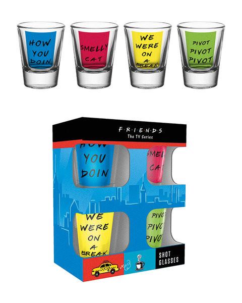 Bicchiere Friends TV - Quotes