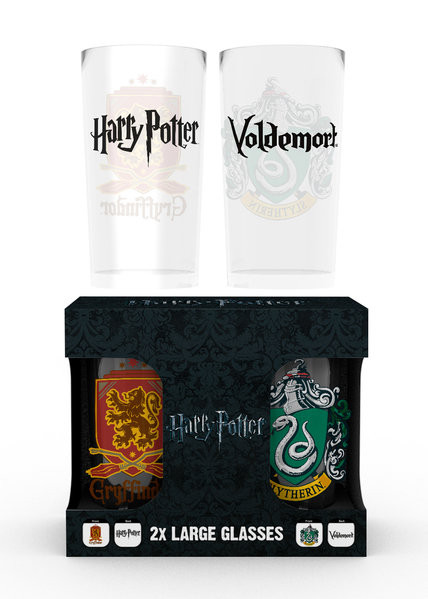 Bicchiere Harry Potter - Crests
