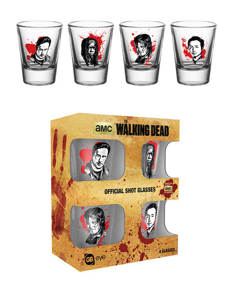 Bicchiere The Walking Dead - Characters