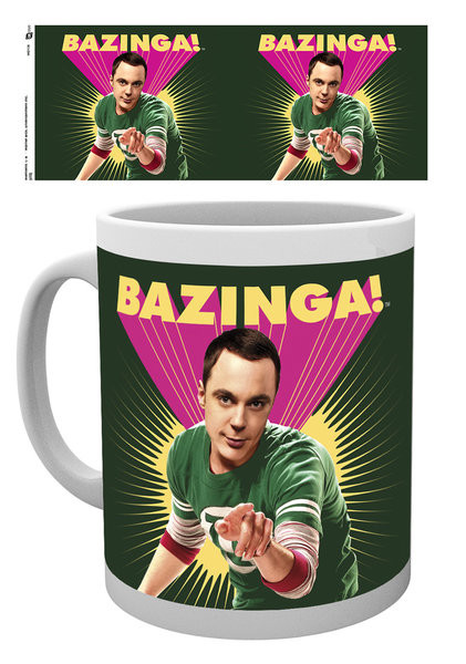 Taza Big Bang - Sheldon Bazinga