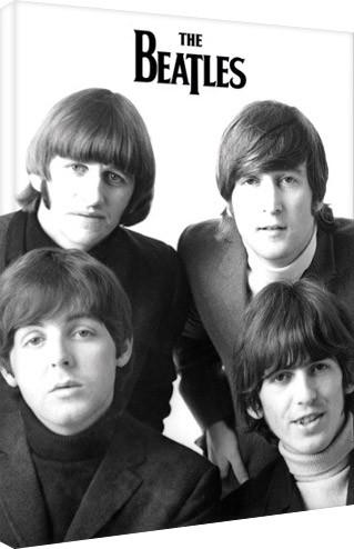 Bilden på canvas Beatles - band