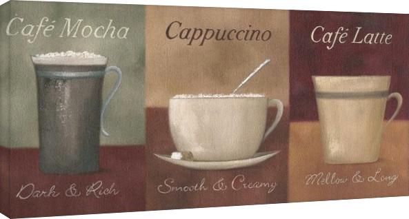 Bilden på canvas Mandy Pritty - Café