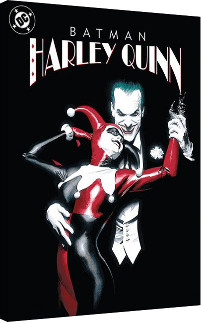 Bilden på canvas Suicide Squad- Joker & Harley Quinn Dance