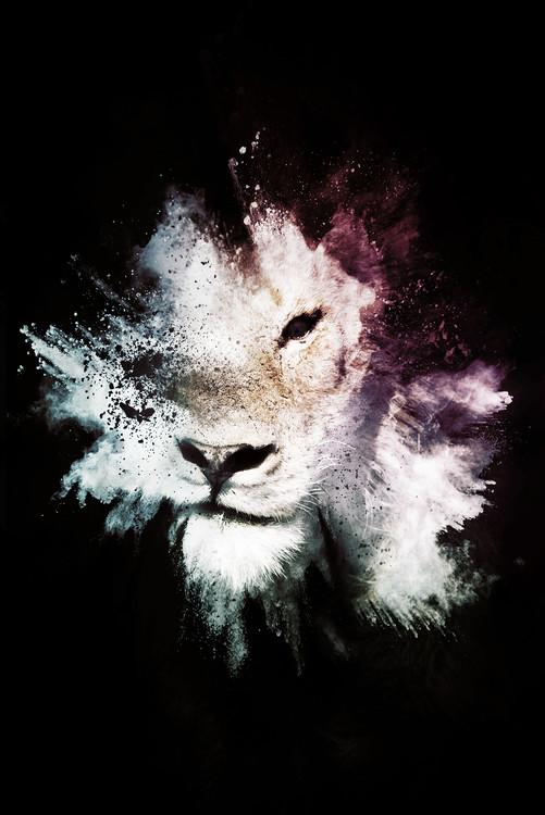 Canvastavla The Lion