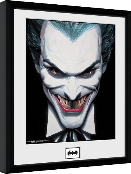 batman comic joker smile gerahmte poster bilder kaufen bei europosters. Black Bedroom Furniture Sets. Home Design Ideas