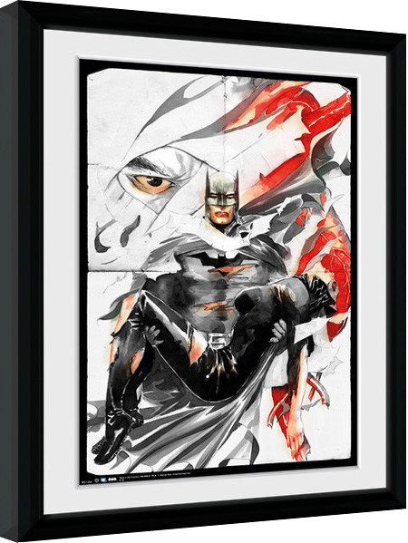batman comic rip gerahmte poster bilder kaufen bei europosters. Black Bedroom Furniture Sets. Home Design Ideas