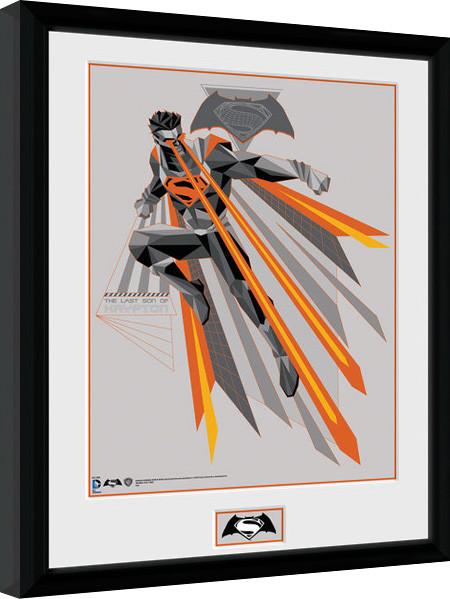 batman vs superman eyes gerahmte poster bilder kaufen bei europosters. Black Bedroom Furniture Sets. Home Design Ideas