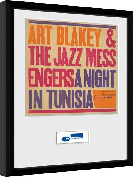 blue note tunisia gerahmte poster bilder kaufen bei europosters. Black Bedroom Furniture Sets. Home Design Ideas