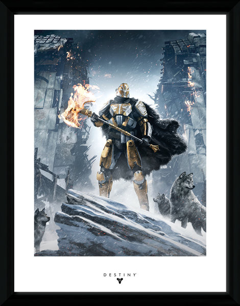 destiny rise of iron gerahmte poster bilder kaufen bei europosters. Black Bedroom Furniture Sets. Home Design Ideas