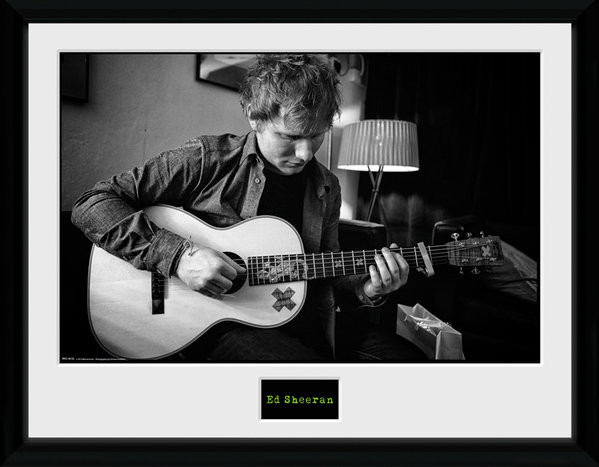 Ed Sheeran - Chord gerahmte Poster