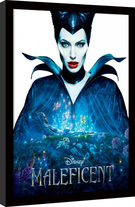 Maleficent: Die dunkle Fee - One Sheet gerahmte Poster