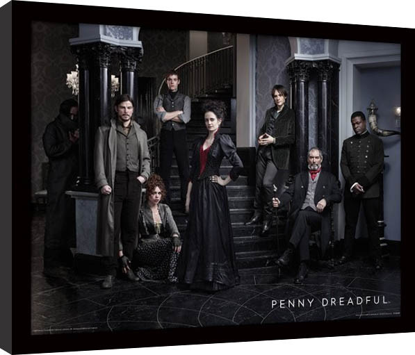 Penny Dreadful - Group gerahmte Poster