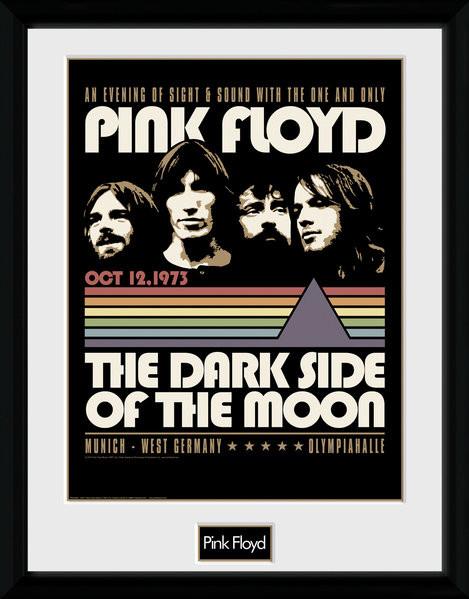 pink floyd 1973 gerahmte poster bilder kaufen bei europosters. Black Bedroom Furniture Sets. Home Design Ideas