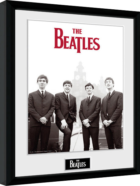 The Beatles - Boat gerahmte Poster
