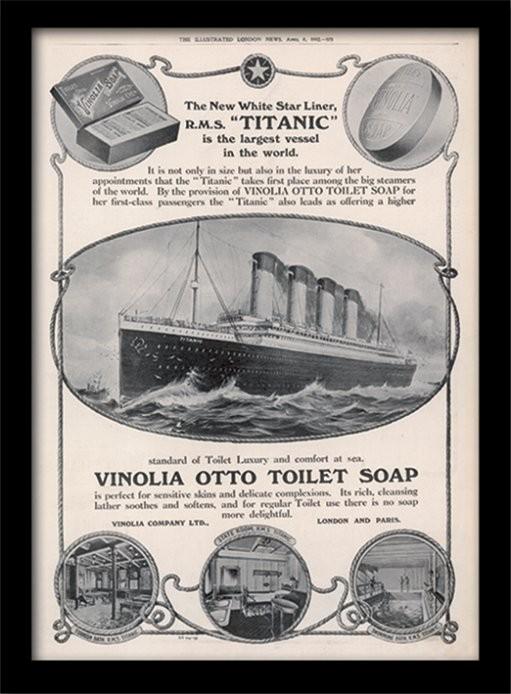 titanic 4 gerahmte poster bilder kaufen bei europosters. Black Bedroom Furniture Sets. Home Design Ideas