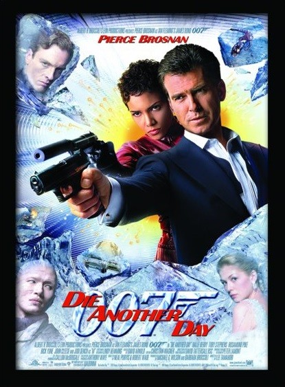Indrammet plakat JAMES BOND 007 - Die Another Day
