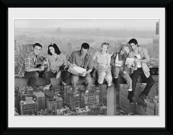 Friends - On Grider indrammet plakat