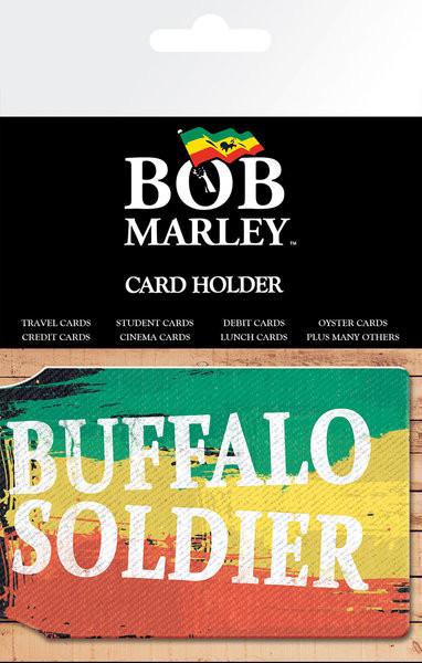 BOB MARLEY - buffalo soldier kártyatartó