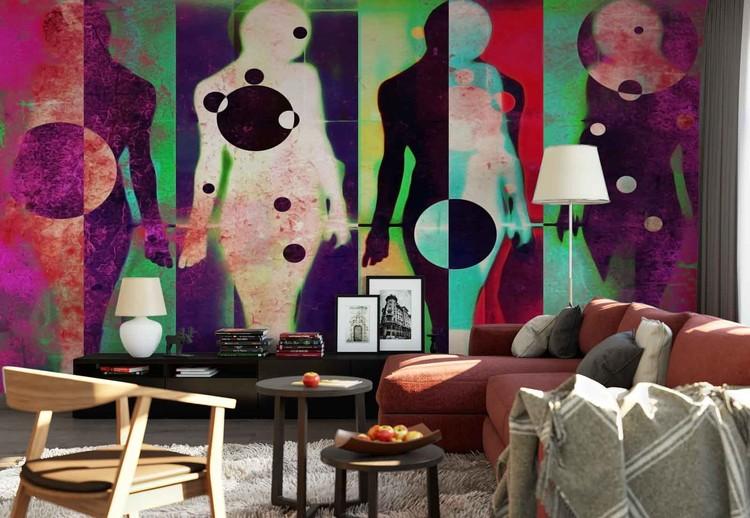 Ταπετσαρία τοιχογραφία  Body Language