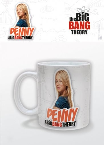 Agymenők - Penny bögre