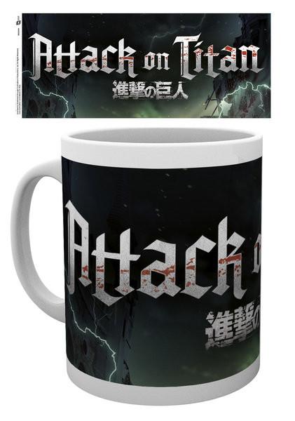 Attack On Titan – Logo bögre