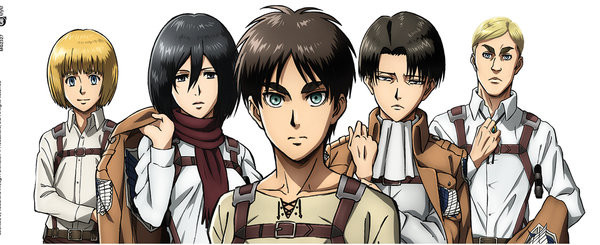 Attack on Titan (Shingeki no kyojin) - Lineup bögre